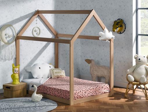 Motclé Lit Enfant Cabane Mobilier Enfants - Cabane sous lit